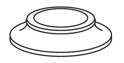 Moen 2198SL Part Eschutcheon Monticello Bidet/ Lavatory/ Tub & Shower Two Handle & Widespread Handle by Moen