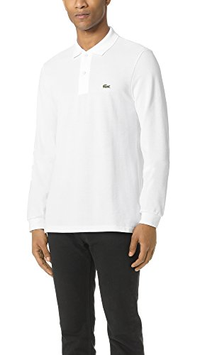 Shirt Long White white sleeve Men's Polo Lacoste SzI7qI