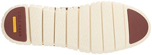 EU Stringate Hurache Zerogrand 5 Brown Haan Cole Leather White 39 Donna Optic Scarpe Oxford XB7ZEw