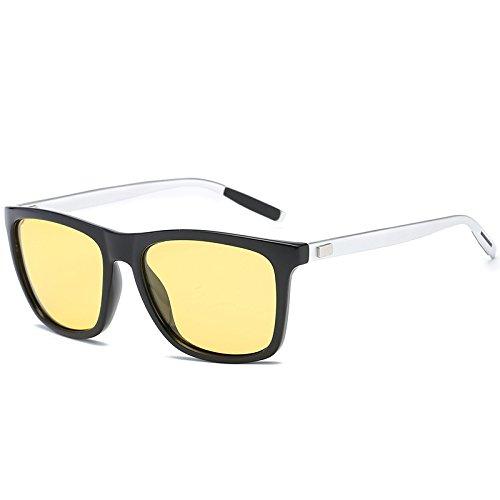 Gafas de los Sol Doble Gafas Chennnnnn de Hombres Gafas de Sol A Conducción B de polarizadas Tq1pxwnd