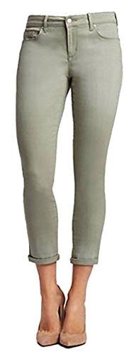 Jessica Simpson Women's Rolled Crop Skinny Jean (10/30, Meadow Green) ()
