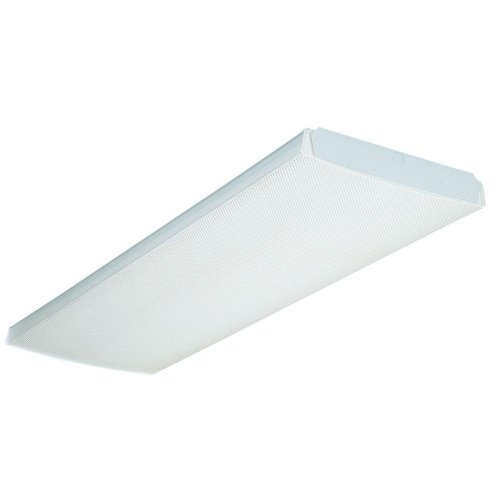 Lithonia Lighting XWL 2 32 120 RE Hanging Outdoor White Industrial Fluorescent Fixture by Lithonia Lighting [並行輸入品] B018A18CLO