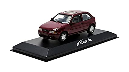 Minichamps - Ford 006 - Ford Fiesta - 1996 - Escala 1/43 - Burdeos