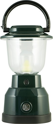 GE 4D Enbrighten Lantern, 350 Lumens, 180 Hrs Battery Life, Red, 11012