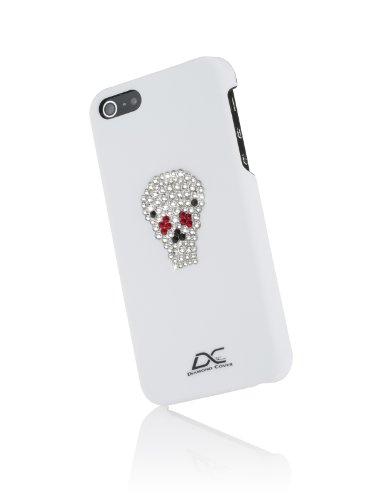 Diamond Cover 303046 Case inkl. Schutzfolie mit Kristallen von Swarovski für Apple iPhone 5/5S