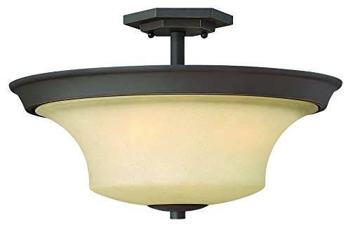 Hinkley Lighting 4632OZ Brantley 3-Light Outdoor Light, Oil Rubbed Bronze