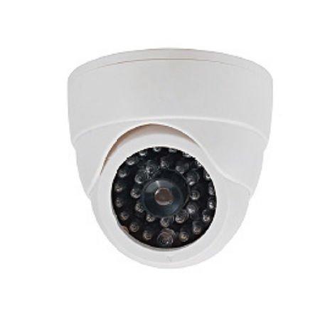 Cop Security 15-CDM07 Dummy Camera with LED Light (White)