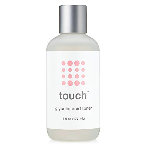 7% Glycolic Acid Toner with Rose Water, Witch Hazel, and Aloe Vera Gel - Alcohol & Oil Free Exfoliating Anti Aging AHA Face Toner - Improves Wrinkles, Dullness, Pores, Acne, Skin Tone & Texture, 6 oz. (Liquid Nitrogen For Age Spots On Face)