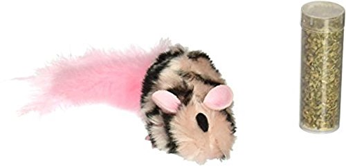 KONG Field Mouse Catnip Toy, Cat Toy, (Dr Noys Cat Toys)