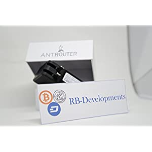 AntRouter R1-LTC ~1.29MH/s ASIC Litecoin Miner with Built-In WiFi Router (AntRouter R1-LTC @ 1.29MH/s)