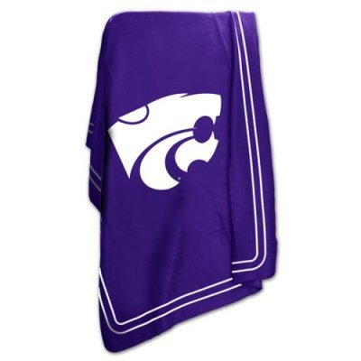 Kansas State University Wildcats Fleece Throw (Kansas State Blanket)