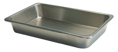 Instrument Trays Without Cover: 12 1/4'' x 7 5/8'' x 2 1/8''