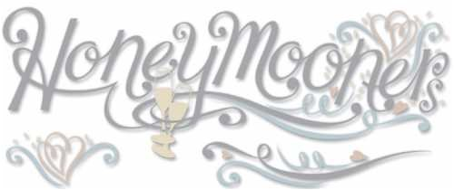 A Touch Of Jolee's I Do Wedding Title Waves 3-D Stickers: Honeymooners