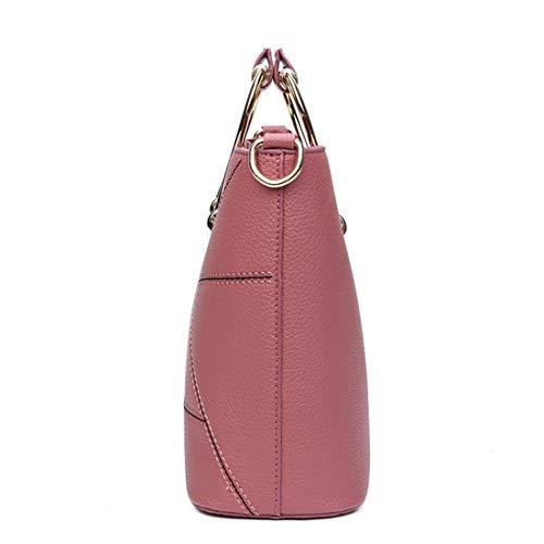 Bolsos Superior Para Bandolera Mujer Pink Kervinzhang color Pink Asa De Hombro gnwYdA