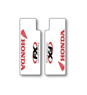 Factory Effex (06-38302) Red Upper Fork Shield Graphic
