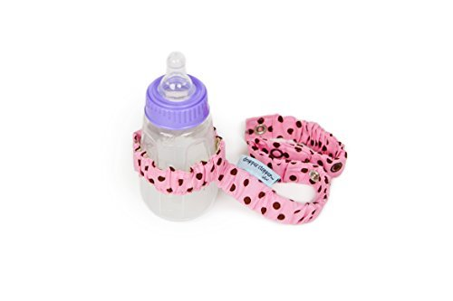 Sister Chic Dropper Stopper Sippy Cup and Tether Toy, Pink Dot by Sister Chic [並行輸入品]   B00ZVC6CCW