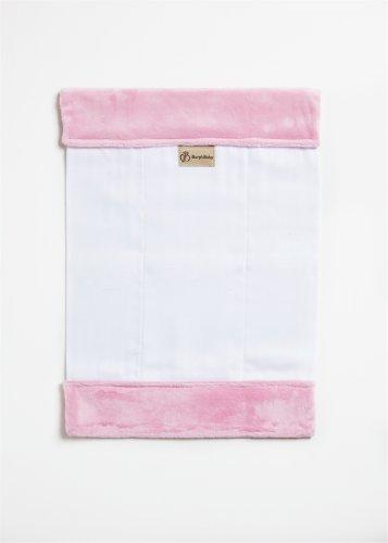 Burp'nBaby Chenille Burp Cloth, Pink