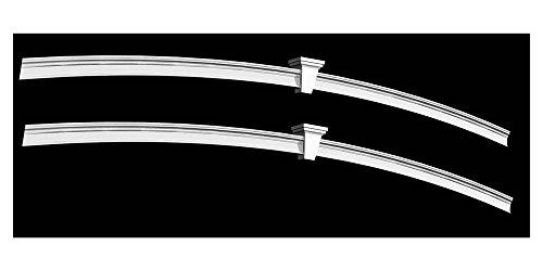 New England Arbors Pergola Arch Kit, White