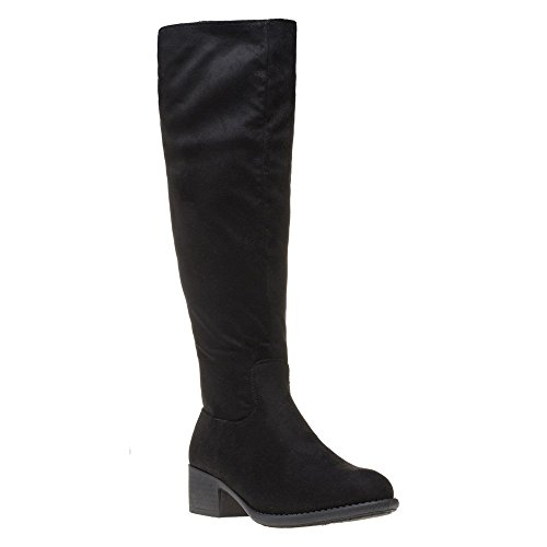 Mujer Solesister Negro Solesister Botas Budenny Budenny q1wxfUS