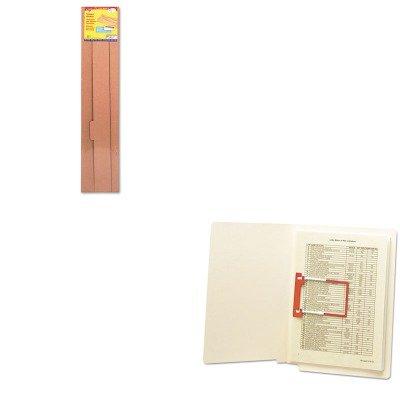KITSMD68260TEPT7003 - Value Kit - Trend File 'n Save System Trimmer Storage Box Dividers (TEPT7003) and Smead U-Clip Bonded File Fasteners (SMD68260)
