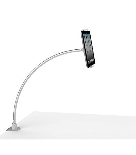 Mingo Labs LP-7 Goosenecks Universal Phone and Tablet Desktop Mount, Silver by Mingo Labs