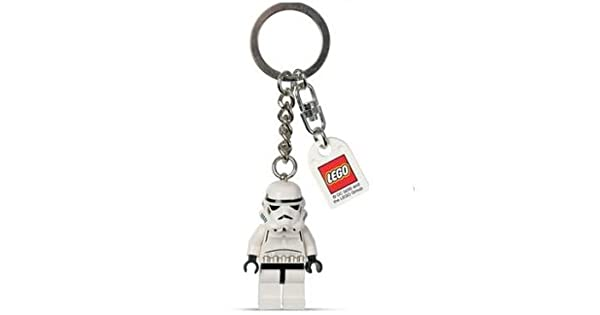 Amazon.com: Stormtrooper de Star Wars Lego clave Cadena ...