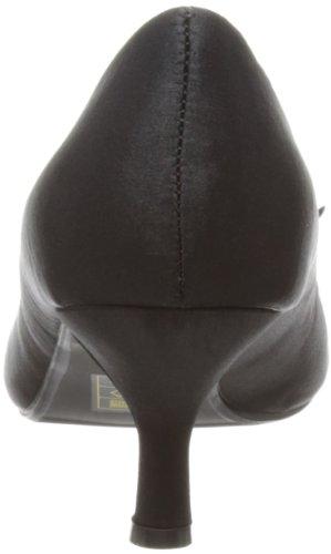 Lunar FLR182 - Zapatos de Cordones de satén mujer negro - Noir - noir