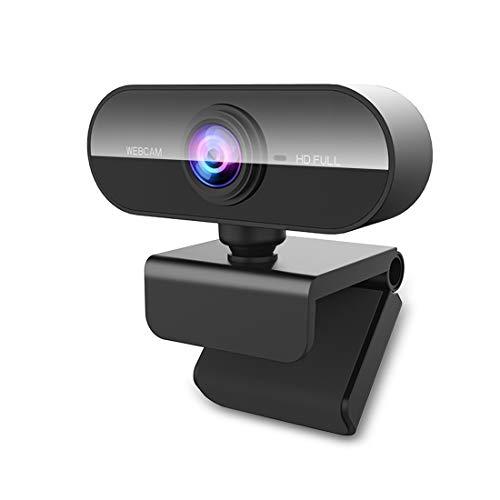 🥇 NIYPS Webcam PC con Microfono