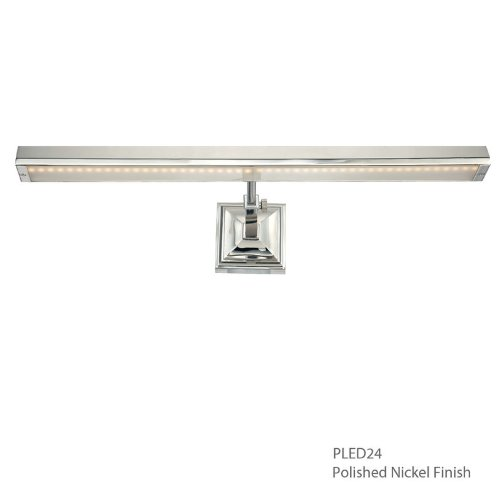 WAC Lighting PL-LED14-27-PN Hemmingway LED Picture Light (Hard Wired) in Polished Nickel