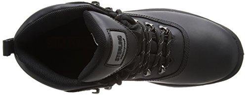 Sterling Safetywear Sterling Steel SS812SM SS812SM - Botas de cuero para hombre Negro
