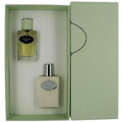 Prada Infusion Diris Gift Set (PRADA INFUSION D'IRIS by Prada SET-EAU DE PARFUM SPRAY 1.7 OZ & BODY LOTION 3.4 OZ for WOMEN)