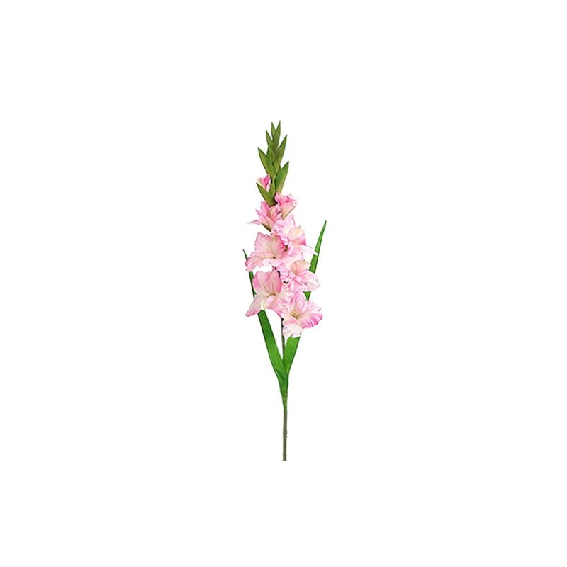 """silk flower arrangements 36.5"""" silk gladiolus flower spray -pink (pack of 12)"""
