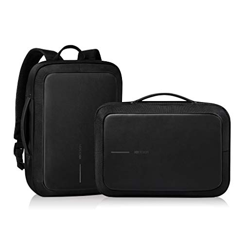 XD Design Bobby Bizz Anti-Theft Laptop Backpack & Briefcase w/ USB (Unisex bag),