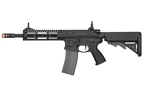 (G&G CM16 Raider 2.0 6mm AEG Airsoft Rifle in Black w/M-LOK Handguard)