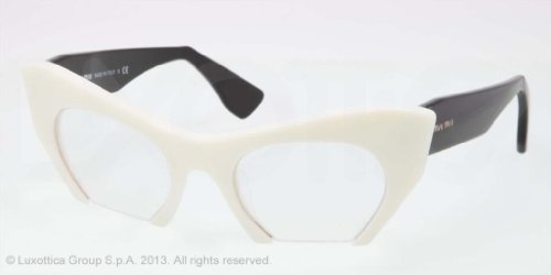 MIU MIU Eyeglasses MU 04MV 7S31O1 Ivory - Miu Miu Prescription Eyewear