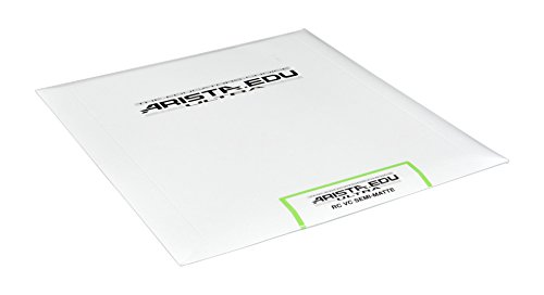 Arista EDU Ultra VC RC Black & White Photographic Paper, Semi-Matte 8x10, 25 Sheets
