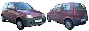 Seicento//600 DM Autoteile Innenkotfl/ügel Radhausschale vorne rechts Kunststoff passt f/ür Cinquecento Seicento//600 Van 92-98