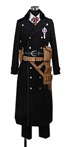 Dreamcosplay Anime Blue Exorcist Yukio Okumura black Uniform Cosplay by Dreamcosplay