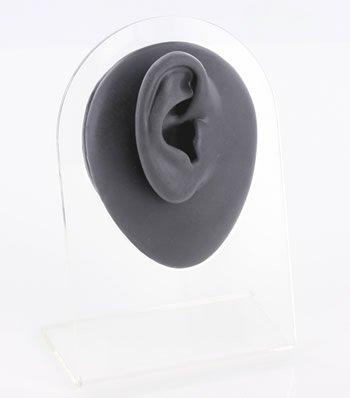(Silicone Right Ear Display - Black Body Bit Version 1)