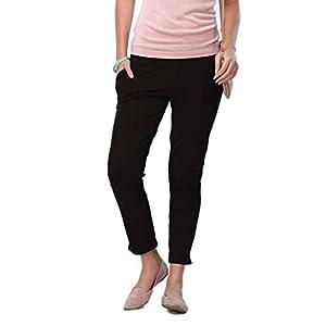 GO COLORS Women Cigarette Pants