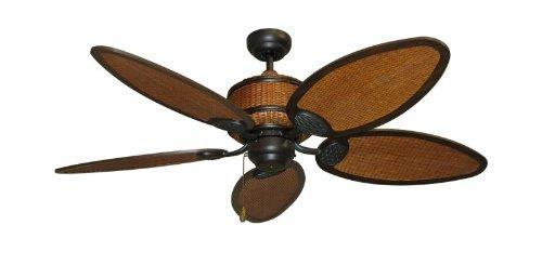 (Cane Isle Tropical Ceiling Fan )