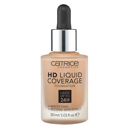 Catrice | HD Liquid Foundation - High & Natural Coverage | Vegan | 036 Hazelnut