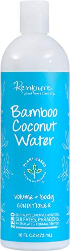 Renpure Bamboo Coconut Water Conditioner, 16 Ounce