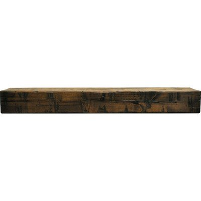 Rustic Fireplace Mantel Shelf Shelf Length: 48