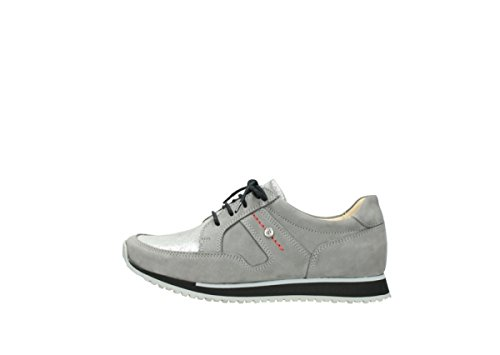 Grey Nubuck Wolky 05800 Confort nbsp;e Formadores walk 20200 w08wSP