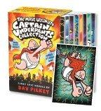 Captain Underpants Complete Set (Captain Underpants, 1-8) - Book  of the Captain Underpants