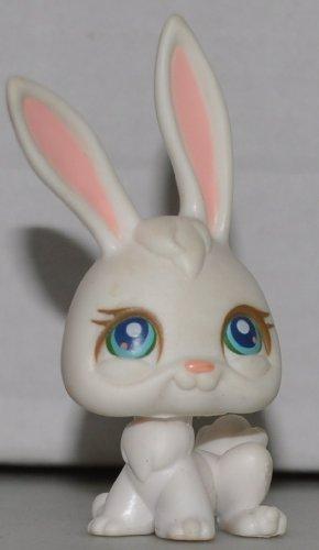 Rabbit #3 (White, Blue Eyed) Littlest Pet Shop