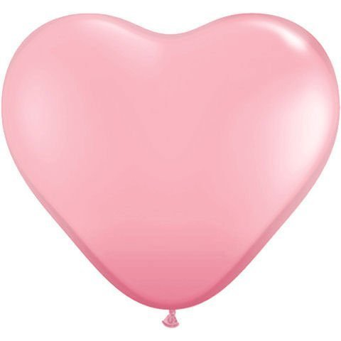 Qualatex-11-Pink-Heart-Latex-Balloons-10-ct