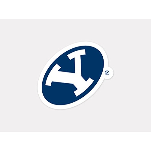 NCAA Brigham Young University 92379012 Perfect Cut Color Decal, 4