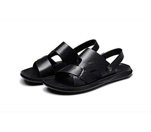 Y Sandalias De Verano Pantuflas Black Playa Sandalias Impermeables De Zapatos Ocasionales nrqrB0wxZ